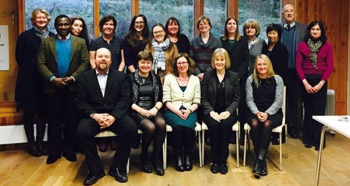The Aber-Bangor Strategic Alliance team