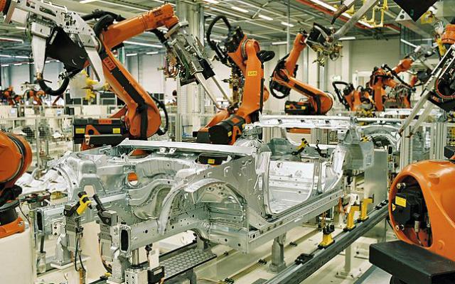 BMW Werk Leipzig. Original uploader was Torsten.heise at de.wikipedia