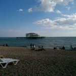 Brighton's beach and west pier (pic: Rosie Niven)