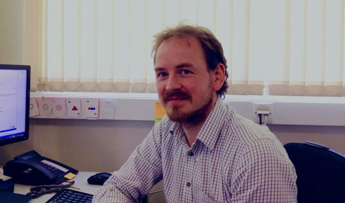 Fin Miller is a change manager at the University of St Andrews