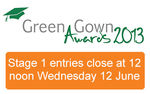 Green Gown Awards 2013