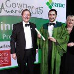 Martin Farley receives Green Gown Award 2016