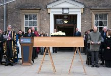 Richard III coffin