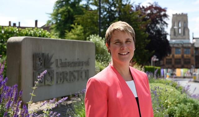 Robin Geller, registrar at the University of Bristol