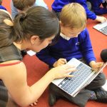 Westover Primary School in Portsmouth was one of the schools taking part in the project