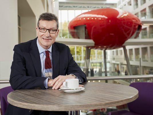 Prof Graham Baldwin Vice Chancellor Southampton Solent University