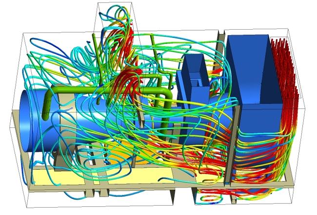 Gas turbine simulation