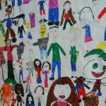 Children's drawings of people
