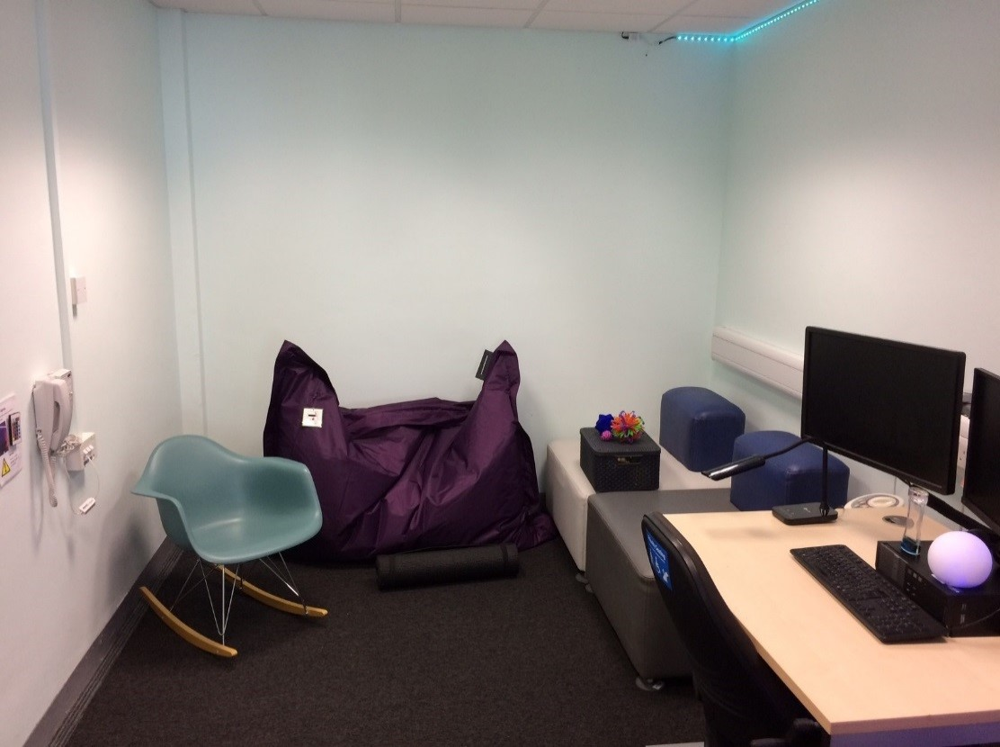 The Sensory Study Room At The University Of Warwick Efficiency Exchange